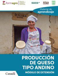 Material de Aprendizaje Producción de queso tipo andino