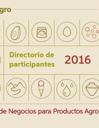 Directorio de participantes I Rueda de negocios para productos agroecológicos 2016