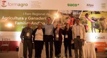 """Con gran éxito se desarrolló el """"I Foro Regional de Agricultura y Ganadería Familiar"""""""