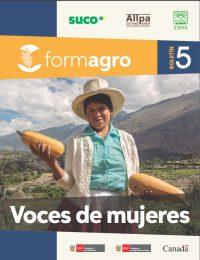 Boletín FORMAGRO #5: Voces de mujeres