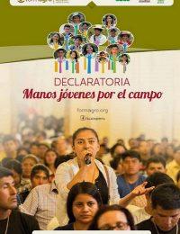 Declaratoria: Manos jóvenes por el campo