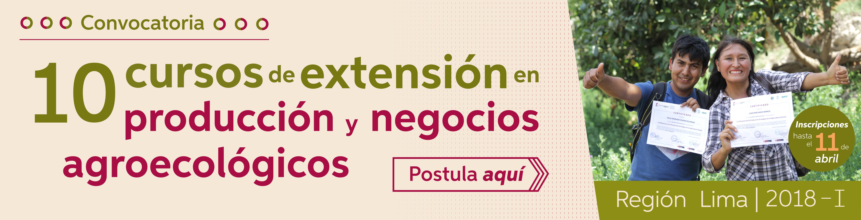 Convocatoria Lima 2018 – I