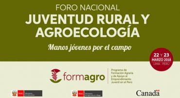 Foro Nacional Juventud Rural y Agroecología – Manos jóvenes por el campo