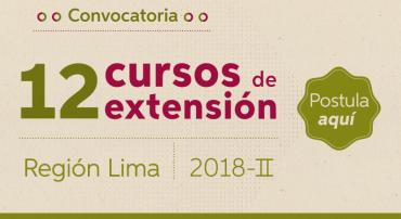 Convocatoria Lima 2018 – II