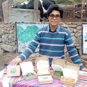 Ronaldo Macazana y el cultivo de hortalizas bebés