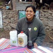 Cinthya García y la innovación en fertilizantes orgánicos