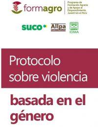 Protocolo sobre violencia basada en género