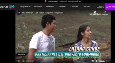 Reportaje a los hermanos Conde en el programa INÉDITOS de IPE