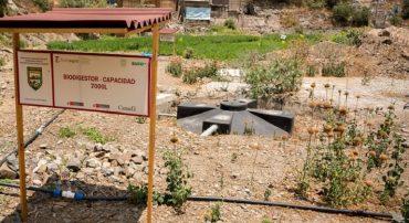 Región Lima: FORMAGRO pone en funcionamiento biodigestor de 8,000 litros en el Centro Experimental del instituto de Pacarán