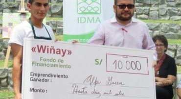 Emprendimientos agroecológicos recibieron financiamiento del Fondo Wiñay