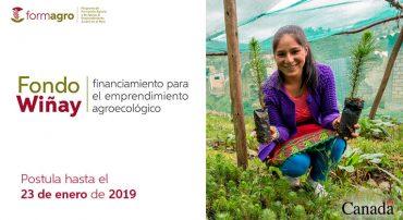 FORMAGRO lanza el Fondo Wiñay para el financiamiento de emprendimientos agroecológicos