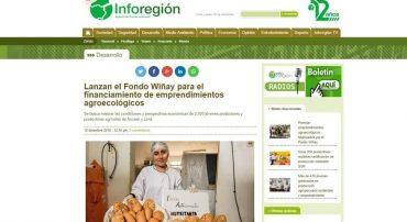 Lanzan el Fondo Wiñay para el financiamiento de emprendimientos agroecológicos