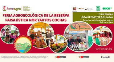 Región Lima: La Feria Agroecológica de la Reserva Paisajística Nor Yauyos Cochas