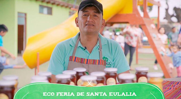 Aniversario de la ecoferia de Santa Eulalia