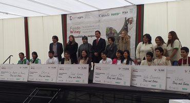 Región Lima: 6 emprendimientos agroecológicos ganaron el financiamiento del Fondo Wiñay del proyecto FORMAGRO