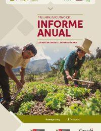 Informe Anual de FORMAGRO (abril 2018 – marzo 2019)