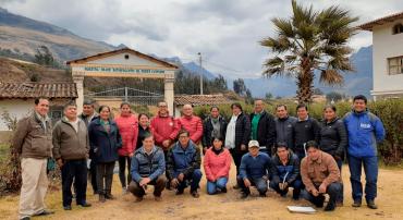 Docentes de institutos de la región Áncash se comprometen a impulsar proyectos de investigación rural
