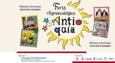 """Región Lima:El sábado 12 de octubre se inaugura la """"Feria Agroecológica de Antioquía"""" con el apoyo del proyecto FORMAGRO"""