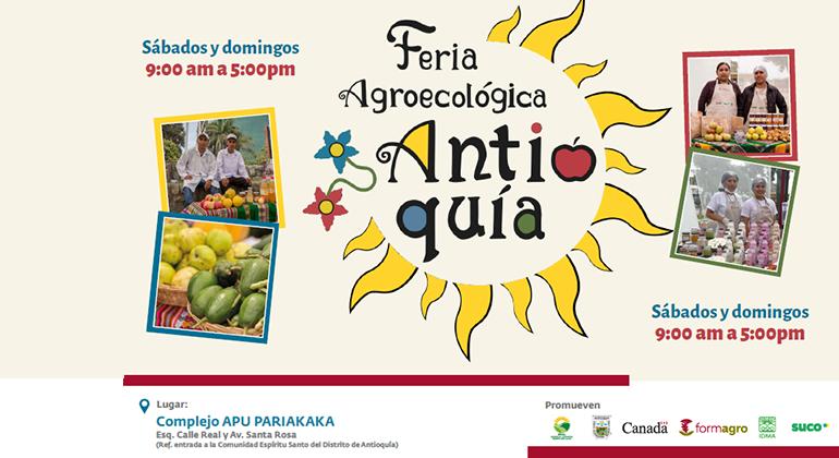 Inauguración de la Feria Agroecológica Antioquía