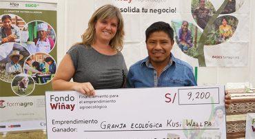 Premiación del 3er Fondo Wiñay en Áncash
