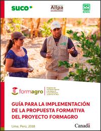 Guia para la implementación de la Propuesta Formativa del proyecto FORMAGRO