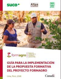 Guia de implementación de Propuesta Formativa FORMAGRO