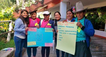 Se realizó el Primer encuentro de mujeres líderes de organizaciones rurales de Ancash