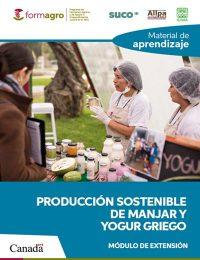 MATERIAL DE APRENDIZAJE PRODUCCION SOSTENIBLE DE MANJAR Y YOGURT GRIEGO