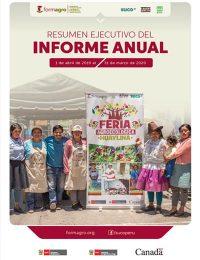 Informe Anual de FORMAGRO (abril 2019 – marzo 2020)