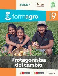 Boletín FORMAGRO # 9: Protagonistas del cambio