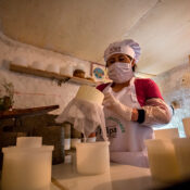 Alicia Valverde, abastece con sus quesos a Huari