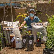 Wilmer Flores Ninasque, promotor de la agroecología