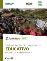 Sistematización del componente educativo del proyecto FORMAGRO