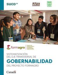 Sistematización del eje transversal de gobernabilidad del proyecto FORMAGRO