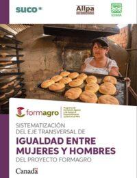 Sistematización del eje transversal de igualdad entre mujeres y hombres del proyecto FORMAGRO